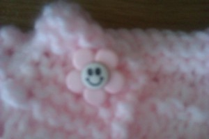 here is a close up on the button which also comes all the way from Australia....