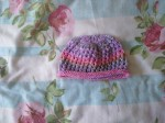 2016-79 Knitted lacy hat for baby (5)