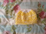 2016-80 knitted lacy hat for baby (6)